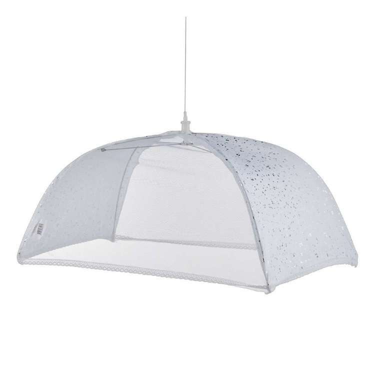 Christmas By Ladelle Tinsel Food Umbrella