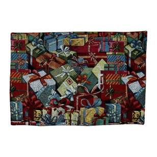 Living Space Festive Presents Tapestry Placemat