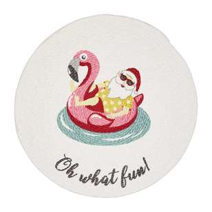 Living Space Festive What Fun Placemats 4 Pack