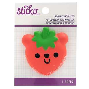 American Crafts 3D Squishy Beary Sticker