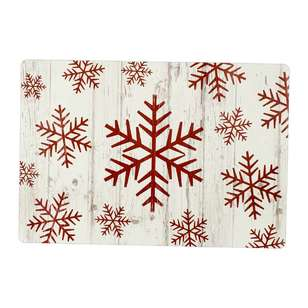 Bouclair Scandi Legend Set Of 4 Snowflake Placemat