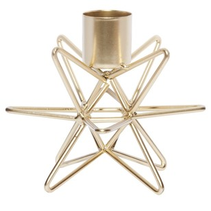 Bouclair Midnight Blue Star Candle Holder
