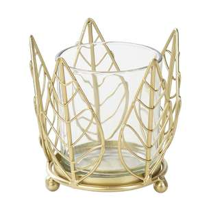 Ombre Home California Dreams Leaf Candle Holder