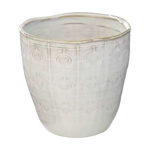 Ombre Home California Dreams Etched Plant Pot