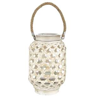 Bouclair Tropica Glass Lantern Candle Holder