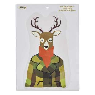 Semco Cosy Stag Iron On Transfer