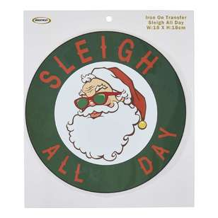 Semco Sleigh All Day Iron On Transfer