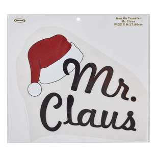 Semco Mr Claus Iron On Transfer