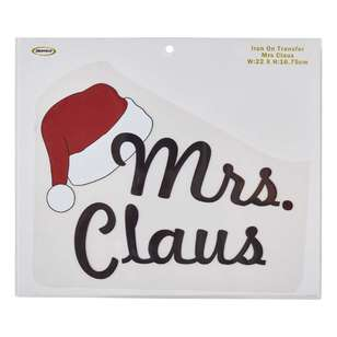 Semco Mrs Claus Iron On Transfer
