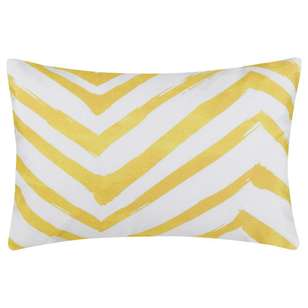 Bouclair Soleado Chevron Cushion