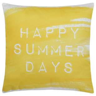 Bouclair Soleado Typo Cushion