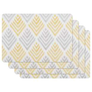 Bouclair Soleado Set of 4 Chevron Placemats