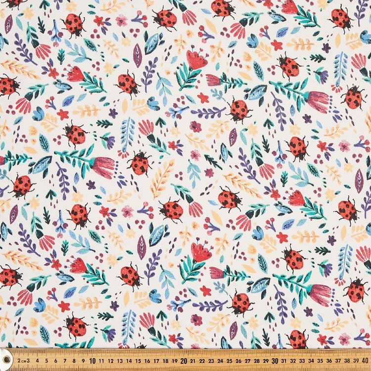 Beatles Flower Garden Thermal Curtain Fabric