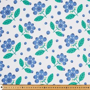 Blueberries Thermal Curtain Fabric