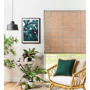 Bamboo Woven Roll Up Blind