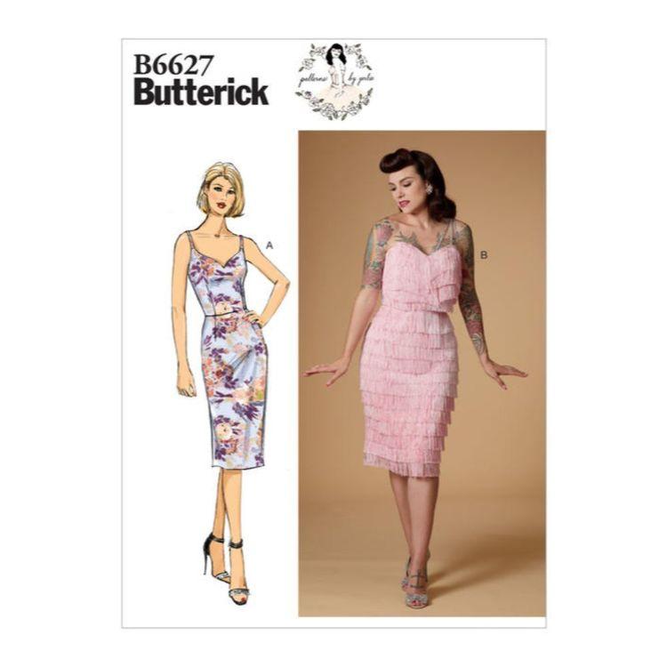 Butterick Pattern 6627 Misses' Dress