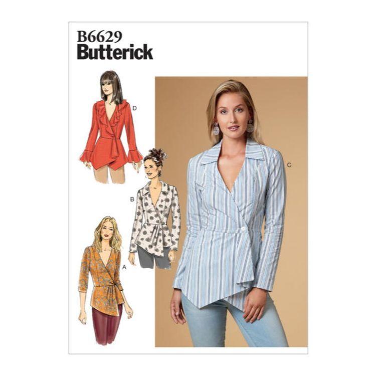Butterick Pattern 6629 Misses' Top