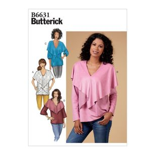 Butterick Pattern 6631 Misses' Top