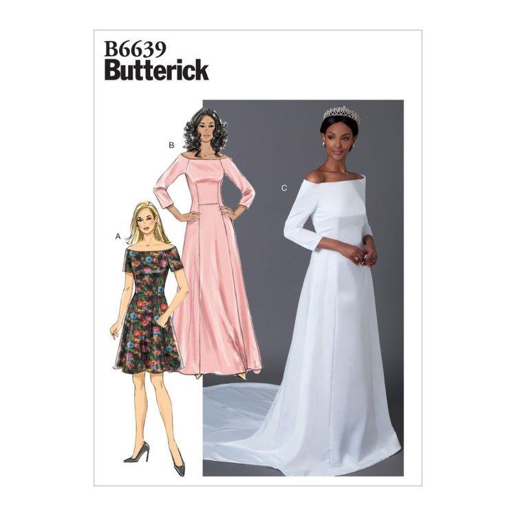 Butterick Pattern 6639 Misses' Dress
