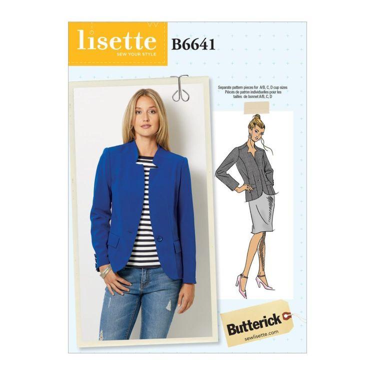 Butterick Pattern 6641 Misses' Jacket