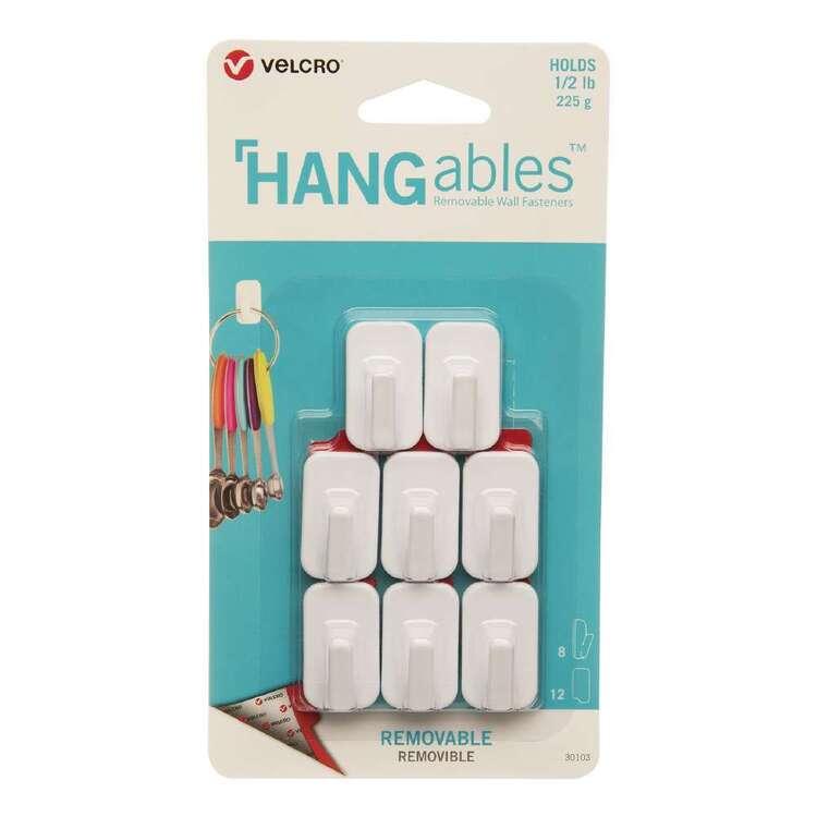 VELCRO Brand Hangables Removable Micro Hook 8 Pack