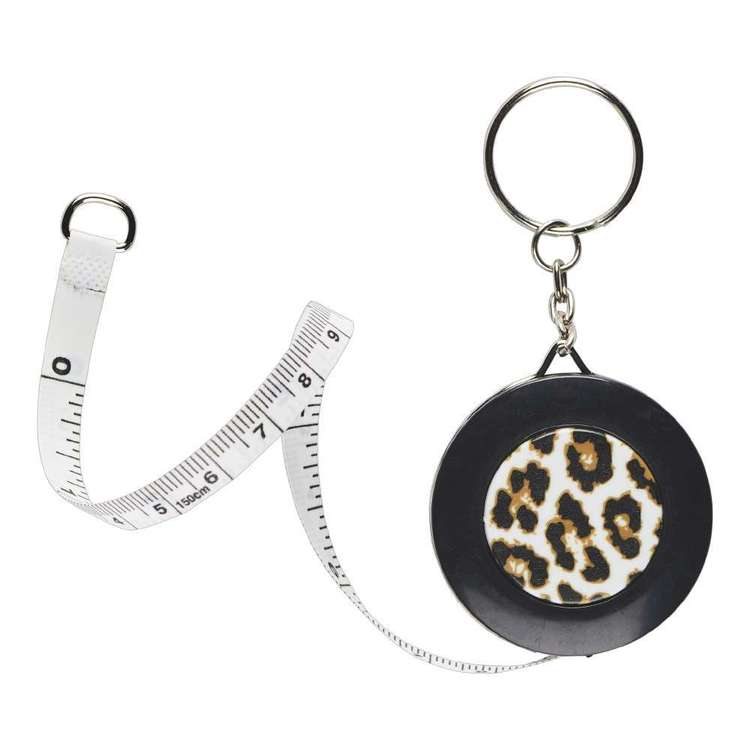 Animal Measuring Tape Key Chain