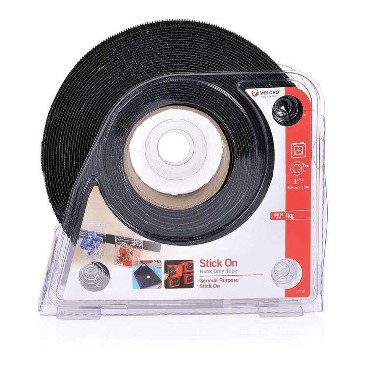 VELCRO Brand Stick On Hook Only Tape