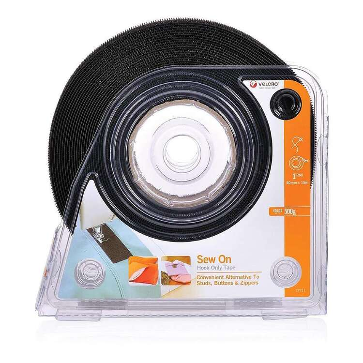 VELCRO Brand Sew On Hook Only Tape