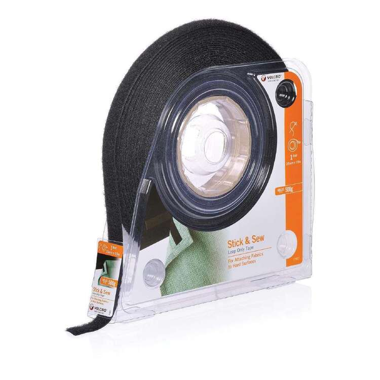 VELCRO Brand Stick & Sew Loop Only Tape