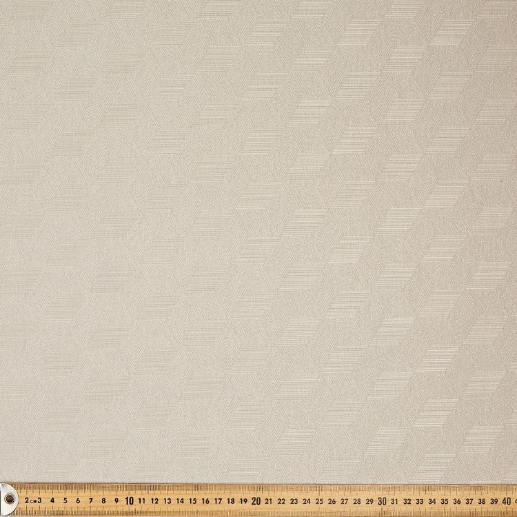 Elegance Aruba Blockout Curtain Fabric Stone 140 cm
