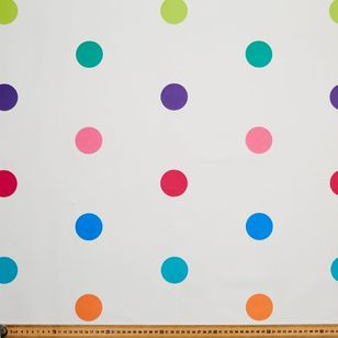 Happy Spots Blockout Kids Curtain Fabric