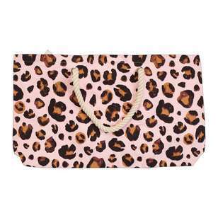 Brampton House Leopard Beach Bag