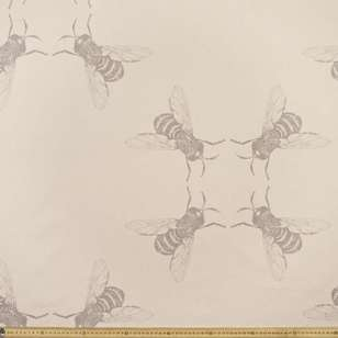 Summerlife Bees Canvas Fabric