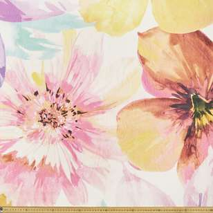 Summerlife Bloom Canvas Fabric