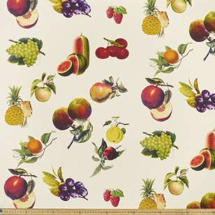 Summerlife Fruit Canvas Fabric