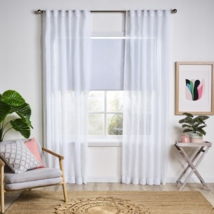 Filigree Oslo Concealed Tab Top Sheer Curtain