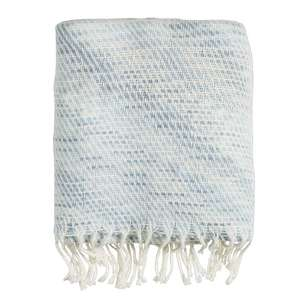 Ombre Home Weathered Coastal Melange Throw