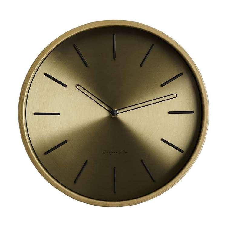 Cooper & Co Metallic Clock