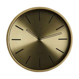 Cooper & Co Metallic Clock