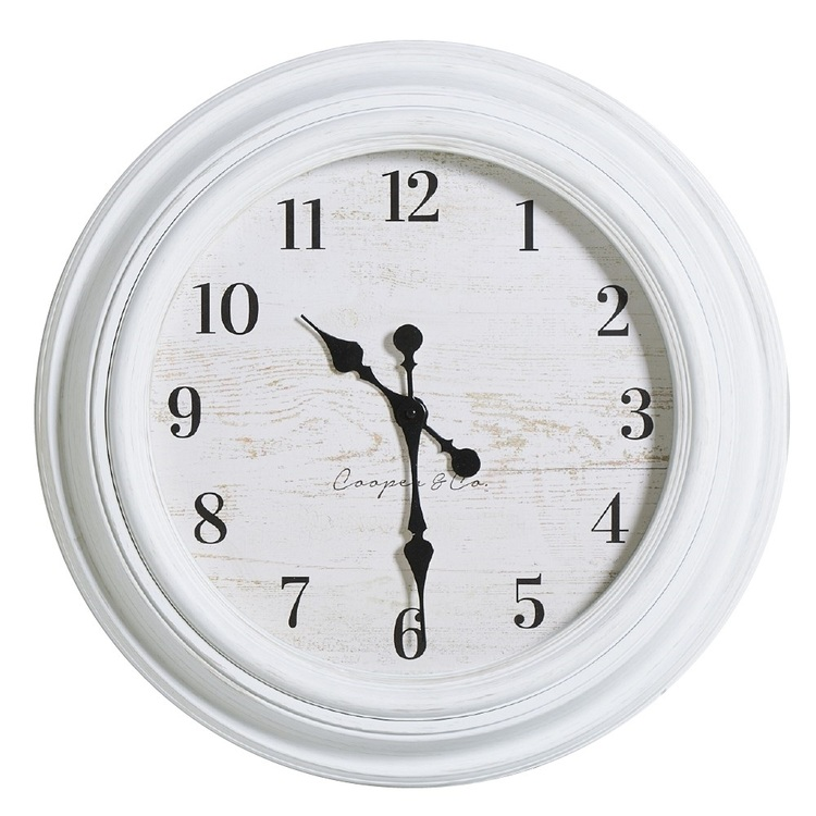 Cooper & Co Coastal Jumbo Clock Multicoloured 60 cm