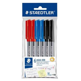 Staedtler Basic 430 Pen 6 Pack