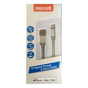 Maxell Lightning Metal Braided 150 cm Cable