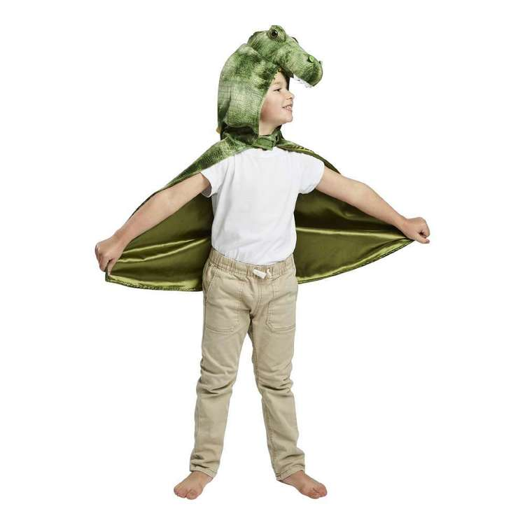 Spartys Dinosaur Cape Green Child
