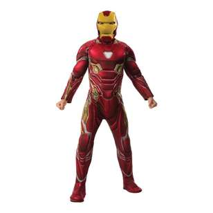Marvel Iron Man Deluxe Infinity War Adult Costume