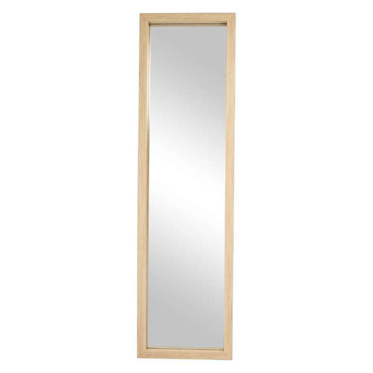 Cooper & Co Summer Life Scandi Standing Mirror Natural 40 x 160 cm