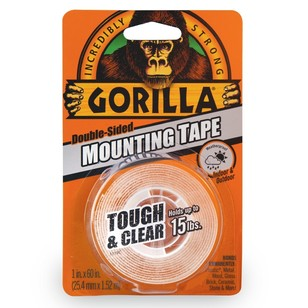 Gorilla Clear Mounting Tape