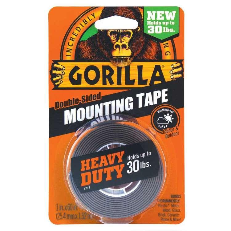 Gorilla Black Mounting Tape