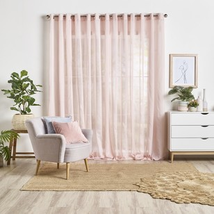 Breamlea Eyelet Continuous Sheer Curtain