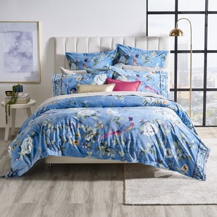 KOO Elite Chintz Velvet Quilt Cover Set