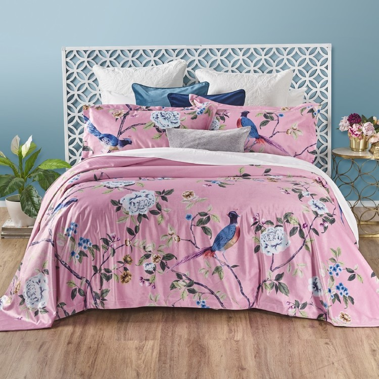 KOO Elite Chintz Velvet Coverlet